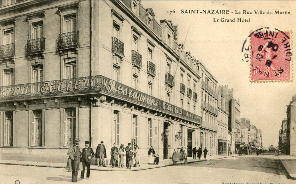 saint nazaire grand hotel