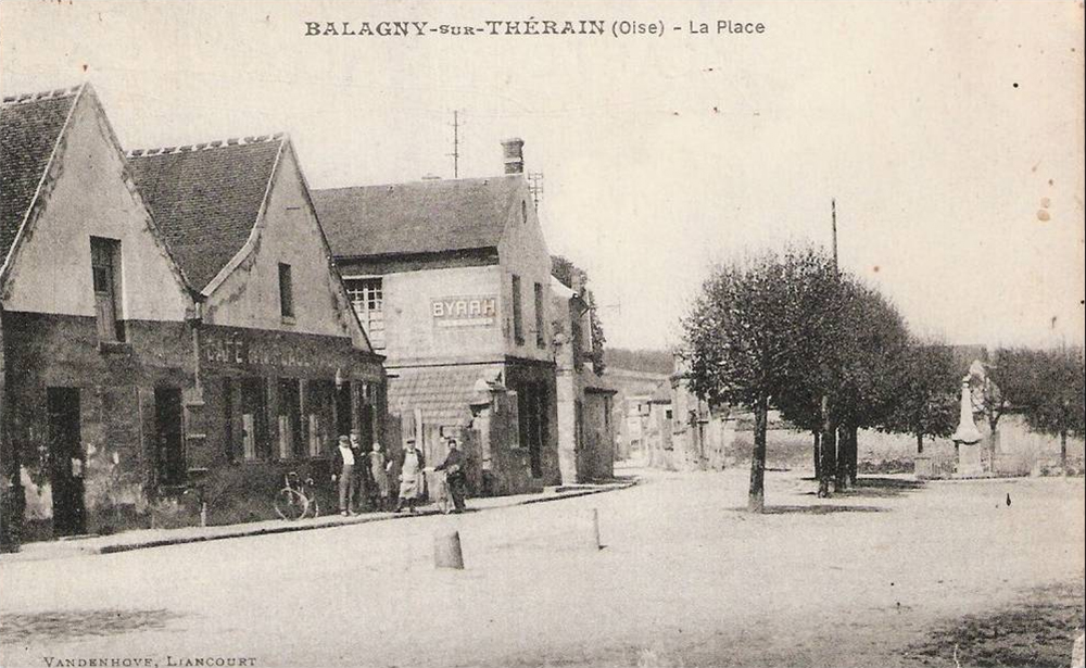 balagny-sur-therain place cafe cheval blanc