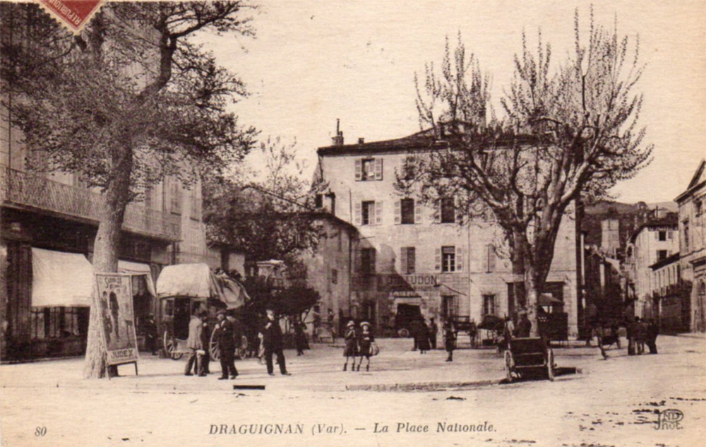 draguignan place nationale